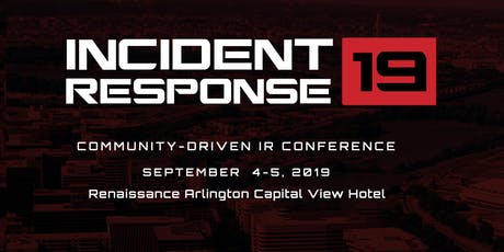 IR19 - Incident Response 2019 tickets