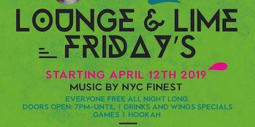 Lounge & Lime Fridays