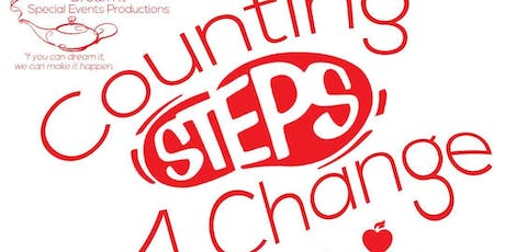 Counting Steps 4 Change Walk-a-thon tickets