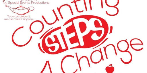 Counting Steps 4 Change Walk-a-thon