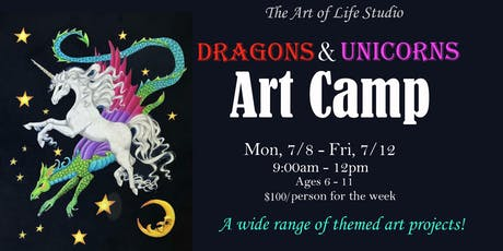 Art Camp: Dragons & Unicorns tickets