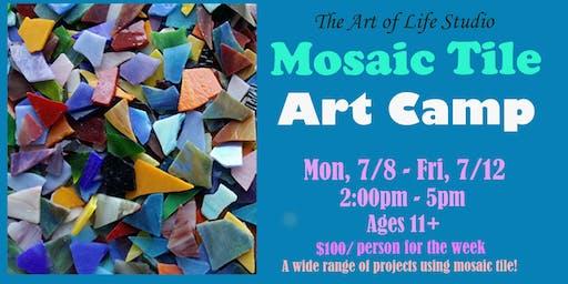 Art Camp: Mosaic Tile