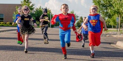 Youth Superhero Triple Challenge