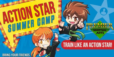 Premier Martial Arts - Action Star Camp! tickets