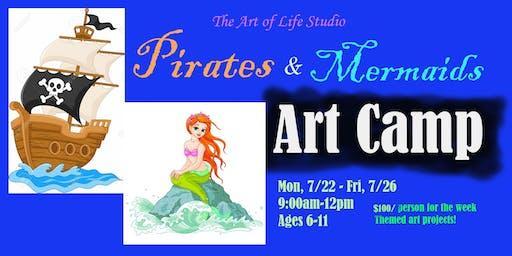 Art Camp: Pirates & Mermaids