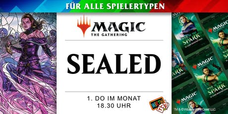 Magic: SEALED - Krieg der Funken Saison Tickets