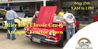 Rice City Classic Car & Antique Tractor Show