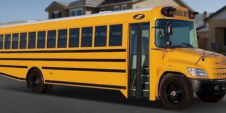 Copy of Pre-Service School Bus Driver/CDL Training Classes tickets