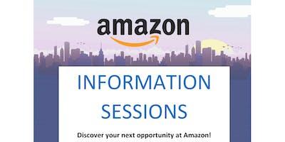 Amazon Info Sessions