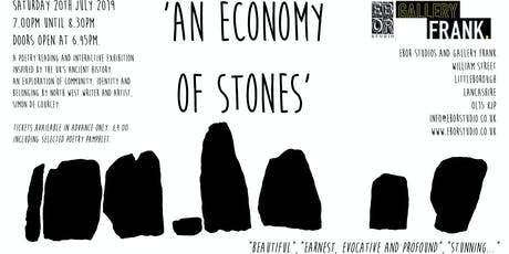 'An Economy Of Stones' tickets
