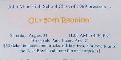 JMHS Class of '69 - 50th Reunion
