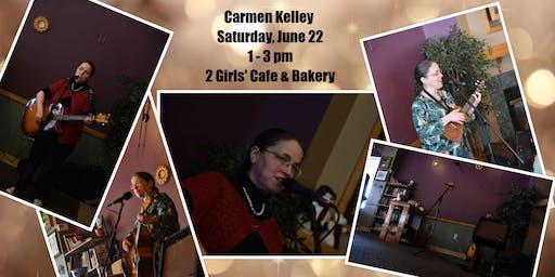 Carmen Kelley: Summer at 2 Girls' Cafe & Bakery