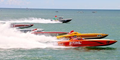 SARASOTA POWERBOAT GRAND PRIX FESTIVAL - VIP RACE VIEWING - SUNDAY, JULY 7, 2019
