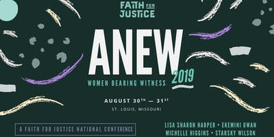 ANEW 2019: Women Bearing Witness