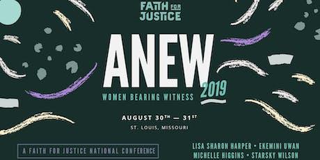 ANEW 2019: Women Bearing Witness tickets