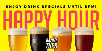 Late Night Hookah Hour at #GazuzaTuesdays: Each and Every Tuesday