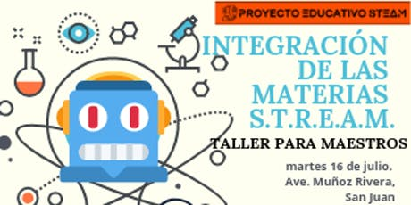 Integración de las materias STREAM tickets