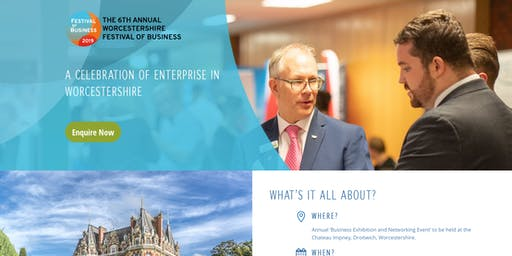 The 6th Annual Worcestershire Festival of Business