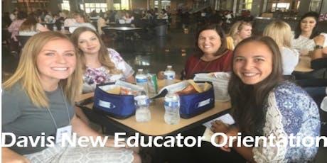 2019 Davis New Educator Orientation  tickets