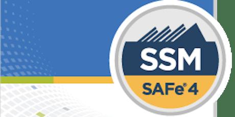 SAFe® Scrum Master (SSM) Certification tickets