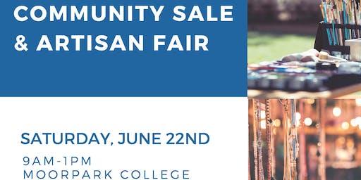 Community Sale & Artisan Fair - Vendor