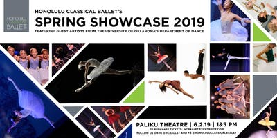 Honolulu Classical Ballet's Spring Showcase 2019 5PM