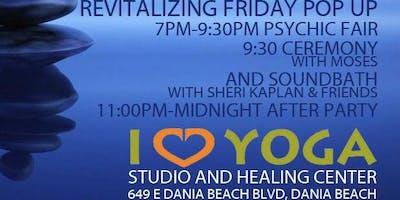 Full Moon  Revitalizing Sound Healing Bath Meditation Pop Up Holistic Fair