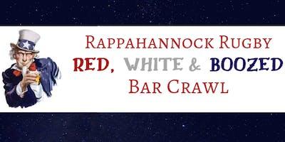 R.R. Red White & Boozed Bar Crawl