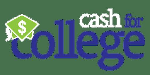 2019 Cash for College Celebration and Professional Development Workshop