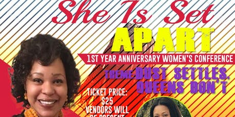 Dust Settles, Queens Don't Women's Conference  tickets