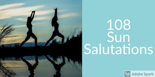 Summer Solstice Yoga 108 Sun Salutations