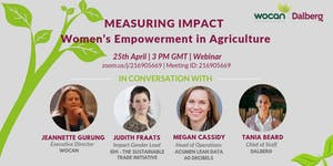 Measuring Impact: Women's Empowerment in Agriculture