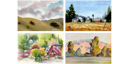 Sonoma County Plein Air Paint Out