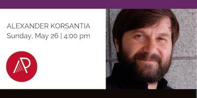 Alexander Korsantia - 2019 Art of the Piano Festival