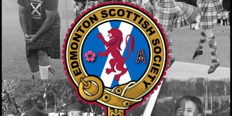 Edmonton Scottish Society Highland Gathering - June 23 and Ceilidh -June 22 tickets