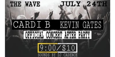 THE CARDI B AND KEVIN GATES OFFICIAL CONCERT AFTER PARTY