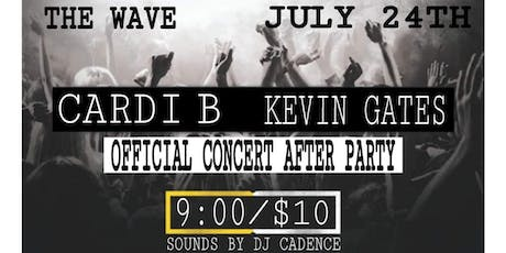 THE CARDI B AND KEVIN GATES OFFICIAL CONCERT AFTER PARTY tickets