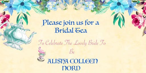 RSVP for Alisha Nord's Bridal Shower