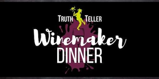 TruthTeller Winery Winemaker Dinner