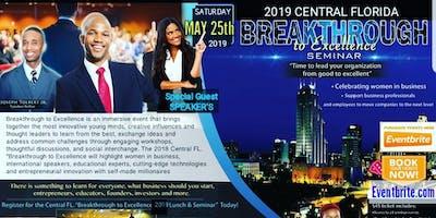 Breakthrough to Excellence Seminar featuring Jazz & Comedy