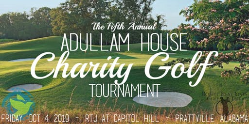 The Fifth Annual Adullam House Charity Golf Tournament