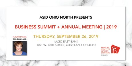 ASID Ohio North Business Summit + Annual Meeting 2019 tickets