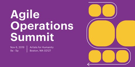 Agile Operations Summit tickets