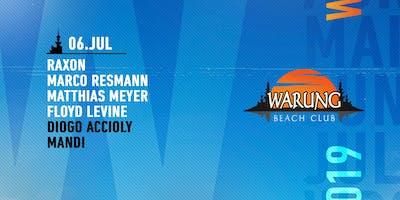 Warung Beach Club - Raxon, Marco Resmann, Matthias Meyer, Floyd Levine
