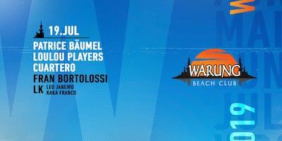 Warung Beach Club - Patrice Bäumel, LouLou Players, Cuartero