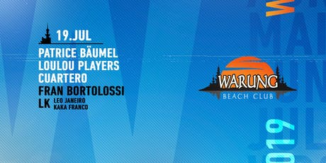 Warung Beach Club - Patrice Bäumel, LouLou Players, Cuartero ingressos