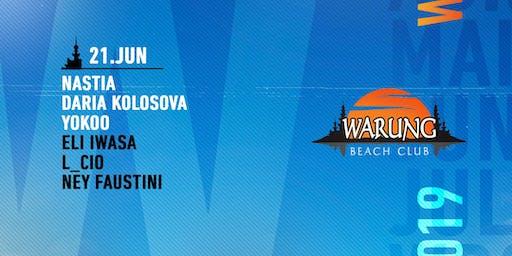 Warung Beach Club - Nastia, Daria Kolosova, Yokoo