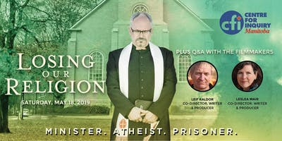 Documentary Screening: Losing Our Religion hosted by CFIC - Manitoba