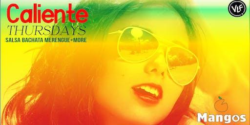 Caliente Thursdays @ Mangos Lounge