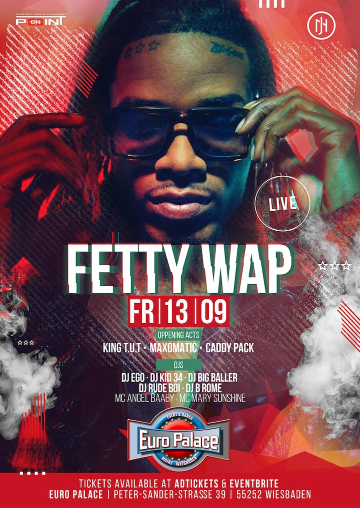 Fetty Wap Live in Concert Tickets, Fri, Sep 13, 2019 at 10
